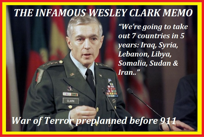 Image result for gen. wesley clark 7 countries in 5 years