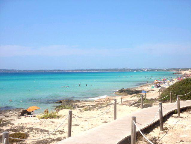 Praia S'Arenal, Formentera