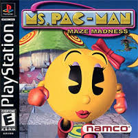 Ms. Pac-Man - Maze Madness - PS1 - ISOs Download