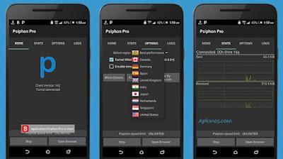 Download Psiphon Pro Premium VPN Terbaru