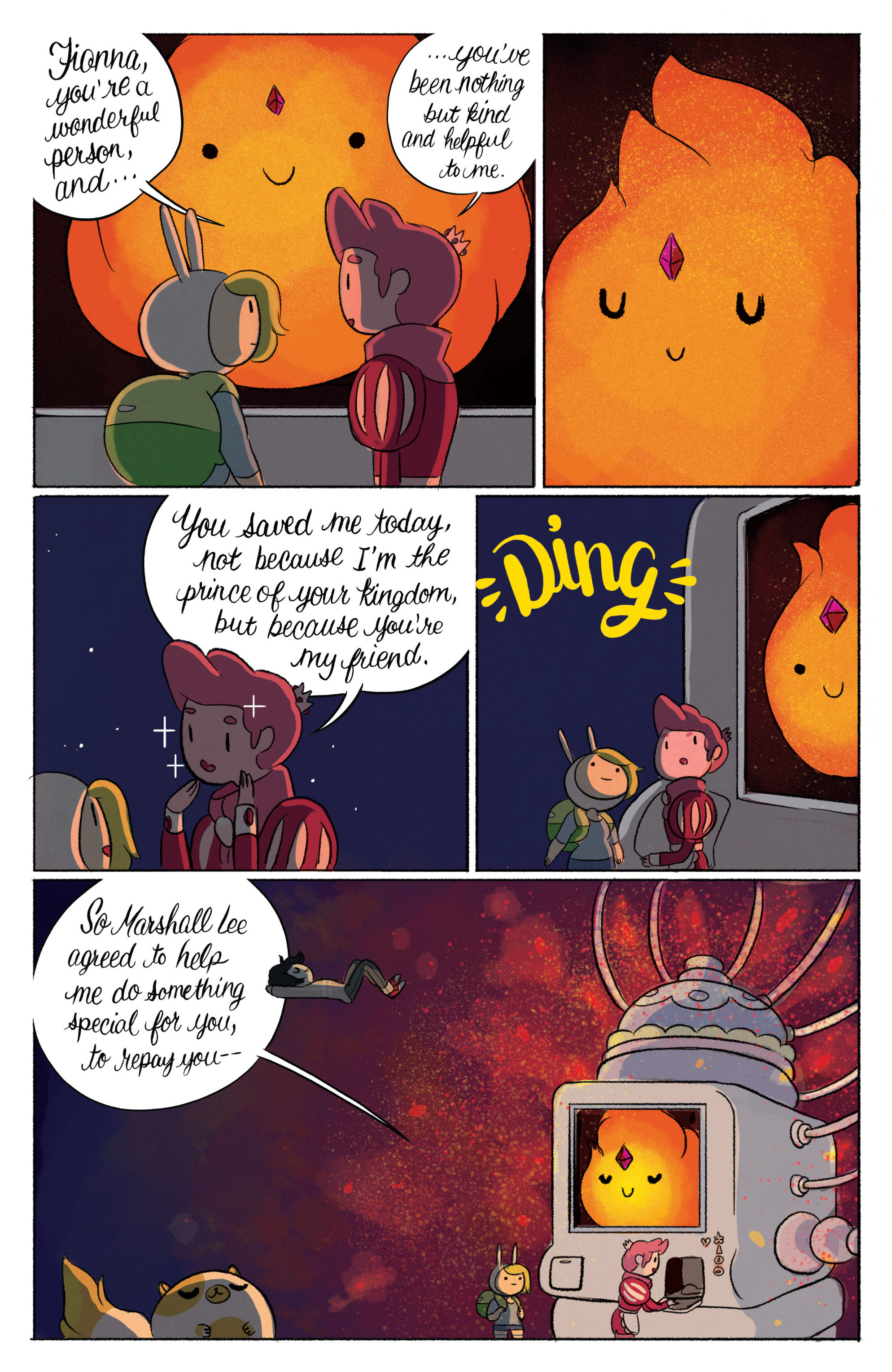 Read online Adventure Time with Fionna & Cake comic -  Issue #3 - 24