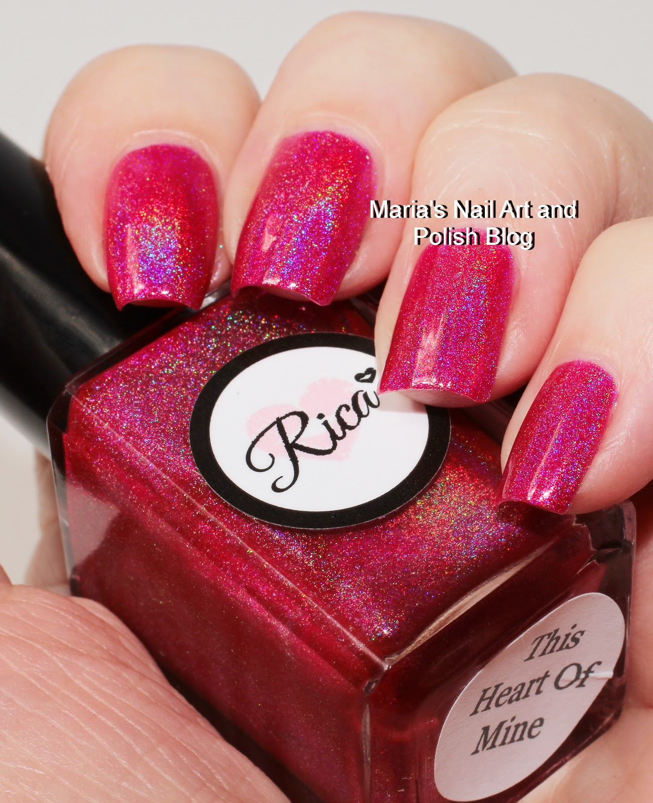 Marias Nail Art And Polish Blog: Rica This Heart Of Mine