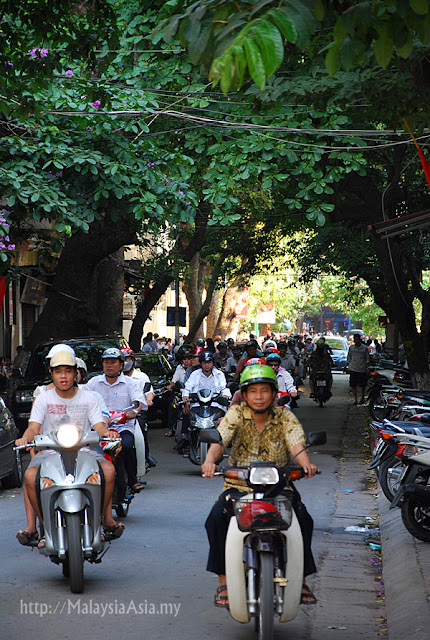 Bikes in Hanoi