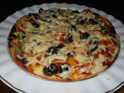 طريقة عمل البيتزا الدايت - بيتزا صحية قليلة السعرات