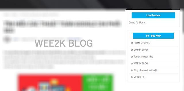 Tạo WIDGET Livepreview và Download cho mỗi bài viết ở Sidebar cho Blogspot