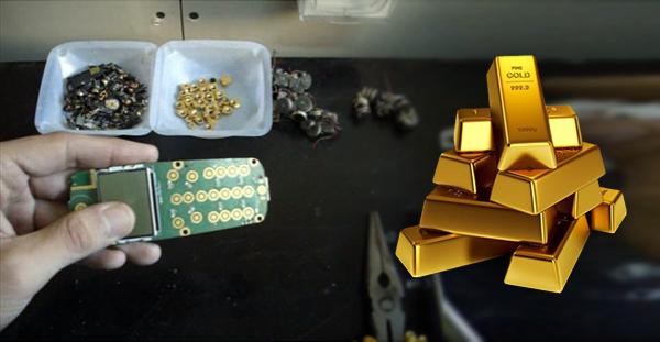 كم عدد الهواتف الذكية التي تحتاج إلى تفكيكها لاستخراج 1 كلغ من الذهب؟