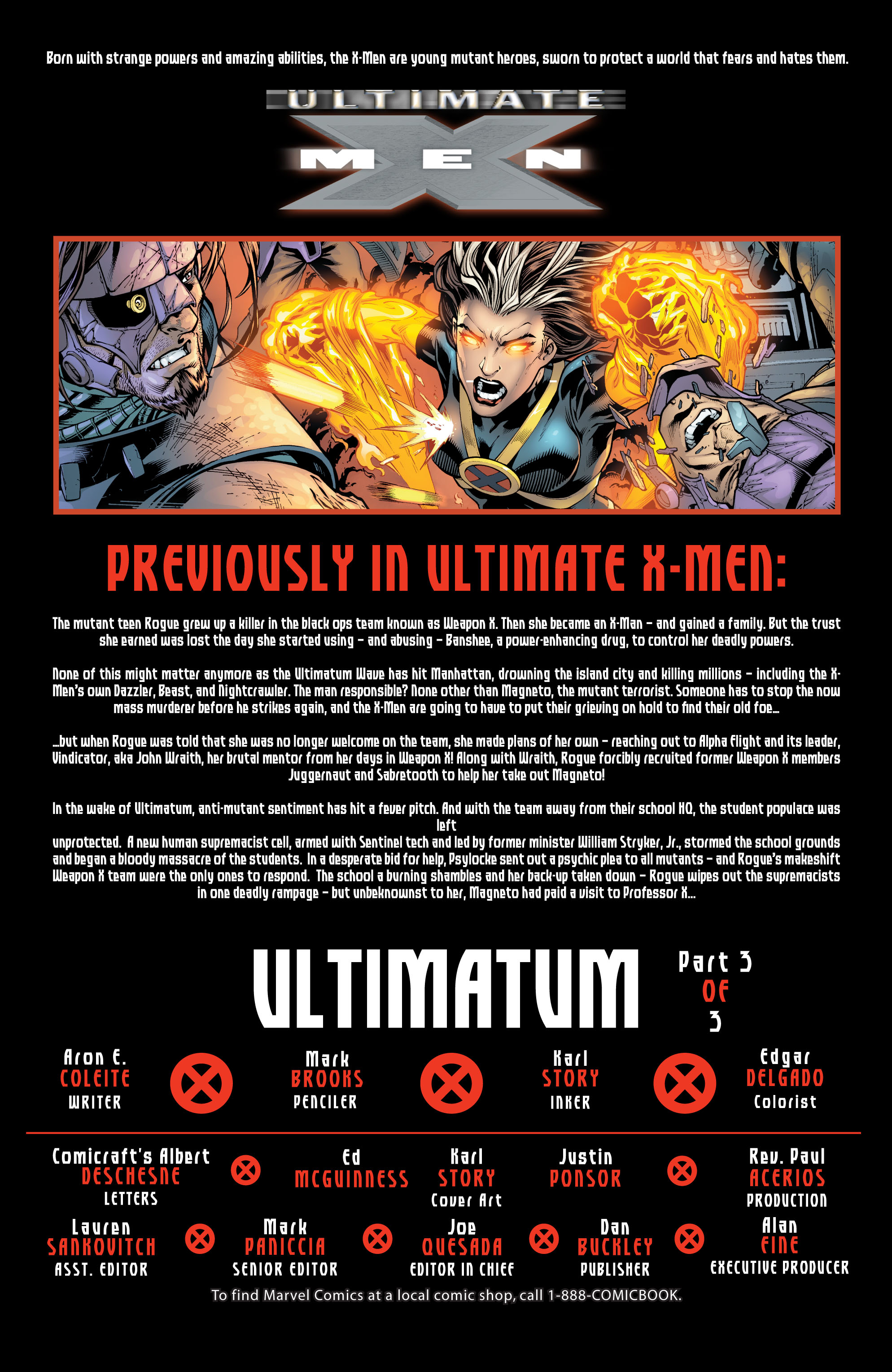 Read online Ultimate X-Men comic -  Issue #100 - 2