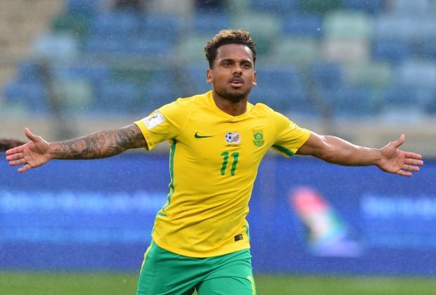Kermit Erasmus Bafana Bafana striker