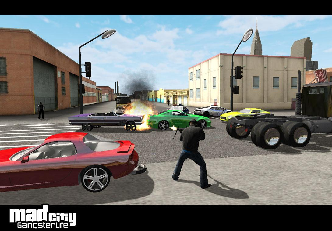 Mad City 2 Gangster life | 17 MB & 88 MB