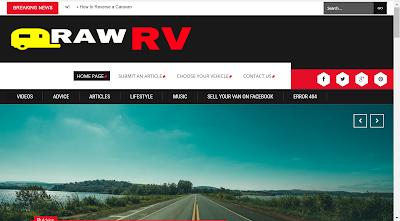 raw rv online magazine motorhomes caravans campervans poptops