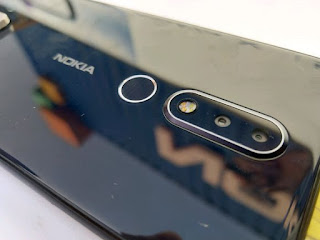 Nokia X surfaced dual camera LED Flash, Scanner and Logo