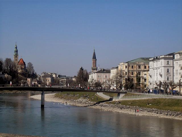 por el río de salzburgo
