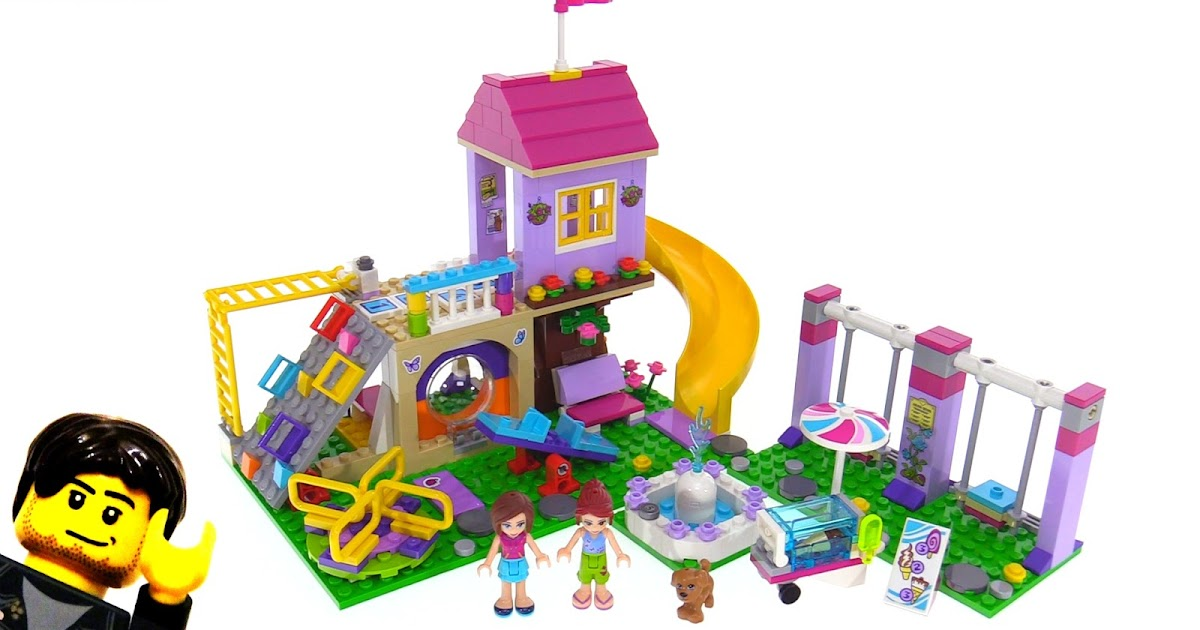 LEGO Friends 41325 Heartlake City Playground review