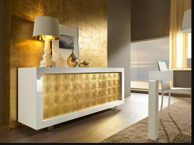 12 dise os de muebles para salas de metal elegantes y for Muebles de comedor elegantes