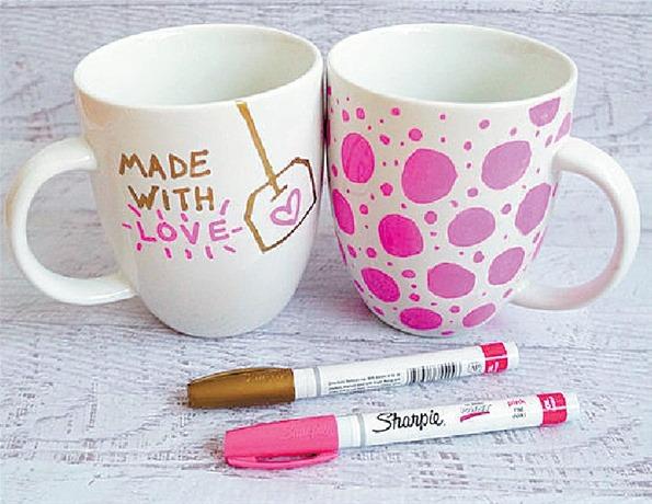 Home kids inspiraci n y creatividad diy m viles para - Como decorar una taza ...