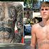 Justin Bieber Flaunts Heavily Tattooed Chest