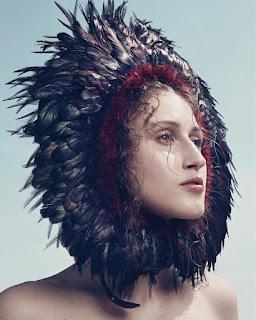 Anna Cleveland for Vogue Brazil January 2017
