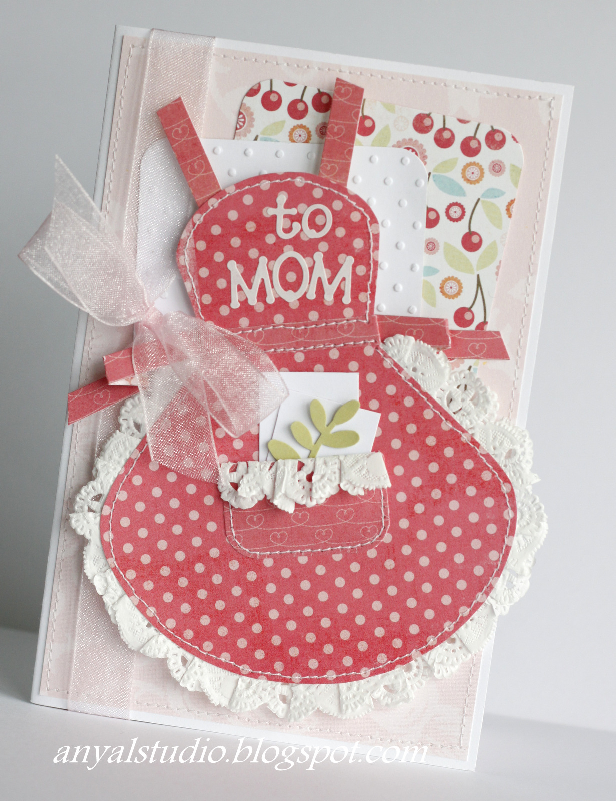 I Covered Inside Of The Card Adding A Little Pocket For Thank You Gift Moms Deserve That