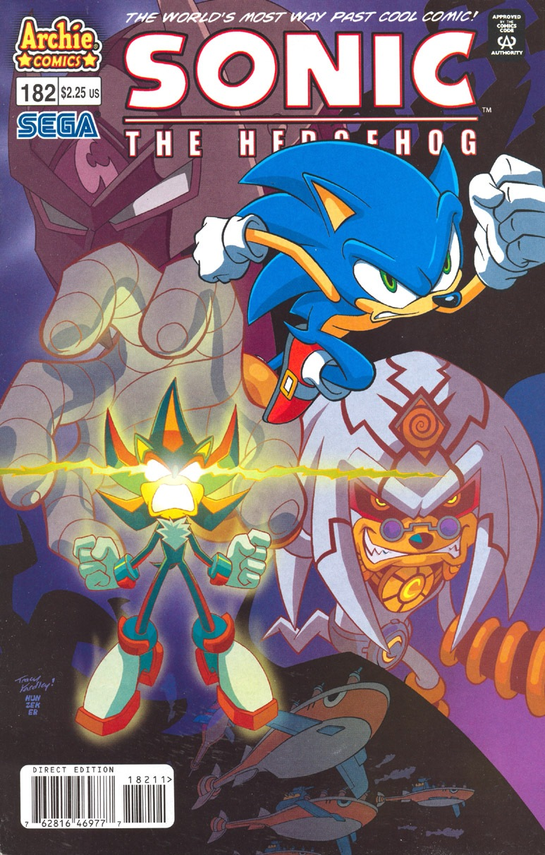 Read online Sonic The Hedgehog comic -  Issue #182 - 1