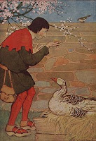 The Goose that Laid the Golden Eggs; Milo Winter