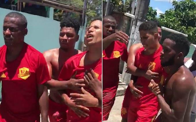 Vídeo mostra desespero de baleado por PM em Lauro de Freitas: 'cadê minha filha? Eu amo ela'