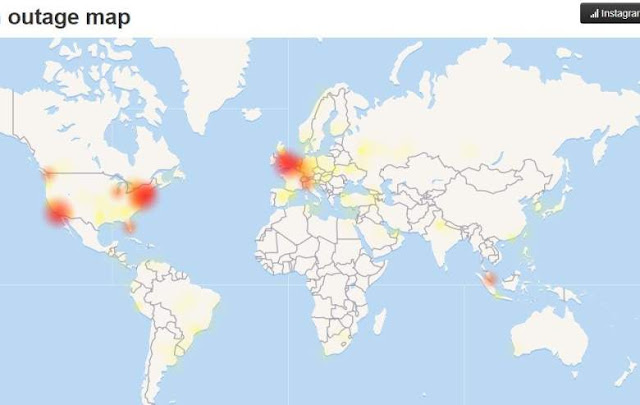 Instagram è di nuovo offline, si sospetta un hackeraggio