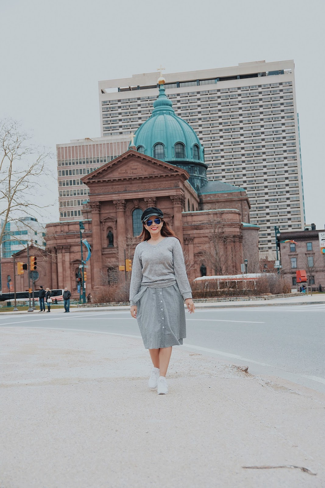 Welcome May by Mari Estilo Wearing:  Jersey: LightInTheBox  Overall Skirt: LightInTheBox  Shoes:  Reebok Classic