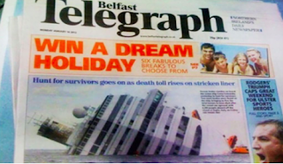 belfast telegraph headline fail