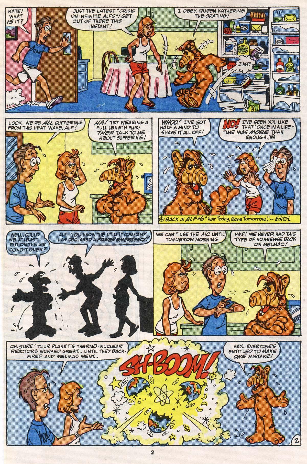 Read online ALF comic -  Issue # _Annual 2 - 3