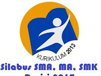 RPP Silabus Kuirkulum 2013 SMA/MA Revisi 2017 Super Lengkap