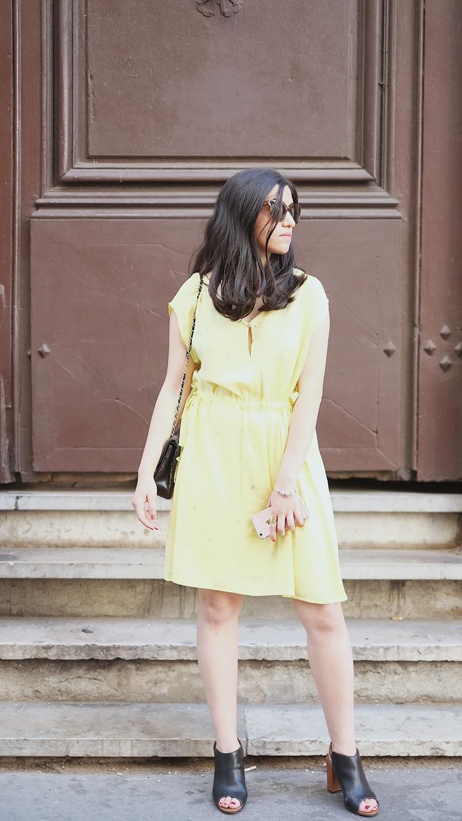 robe_jaune_été