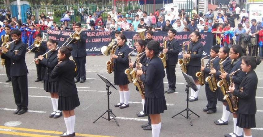 Este Jueves Presentan la 10° Edición del Gran Festival Nacional de Bandas Escolares, organizado por la Municipalidad de Lima - www.munlima.gob.pe