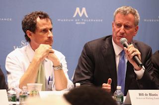 NYC Mayor De Blasio Won't Say if Children's Services Will Probe Anthony Weiner