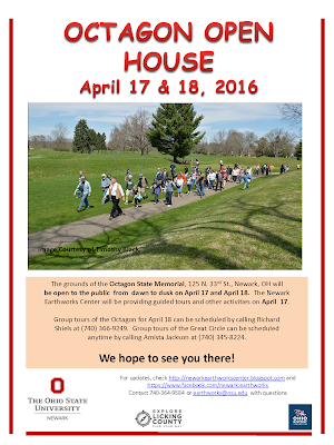 April 17-18, 2016 Octagon Open House Flyer, PDF.