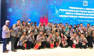 Ning Ita Boyong Pengelola Pasar ke Pasar Rakyat Award 2019