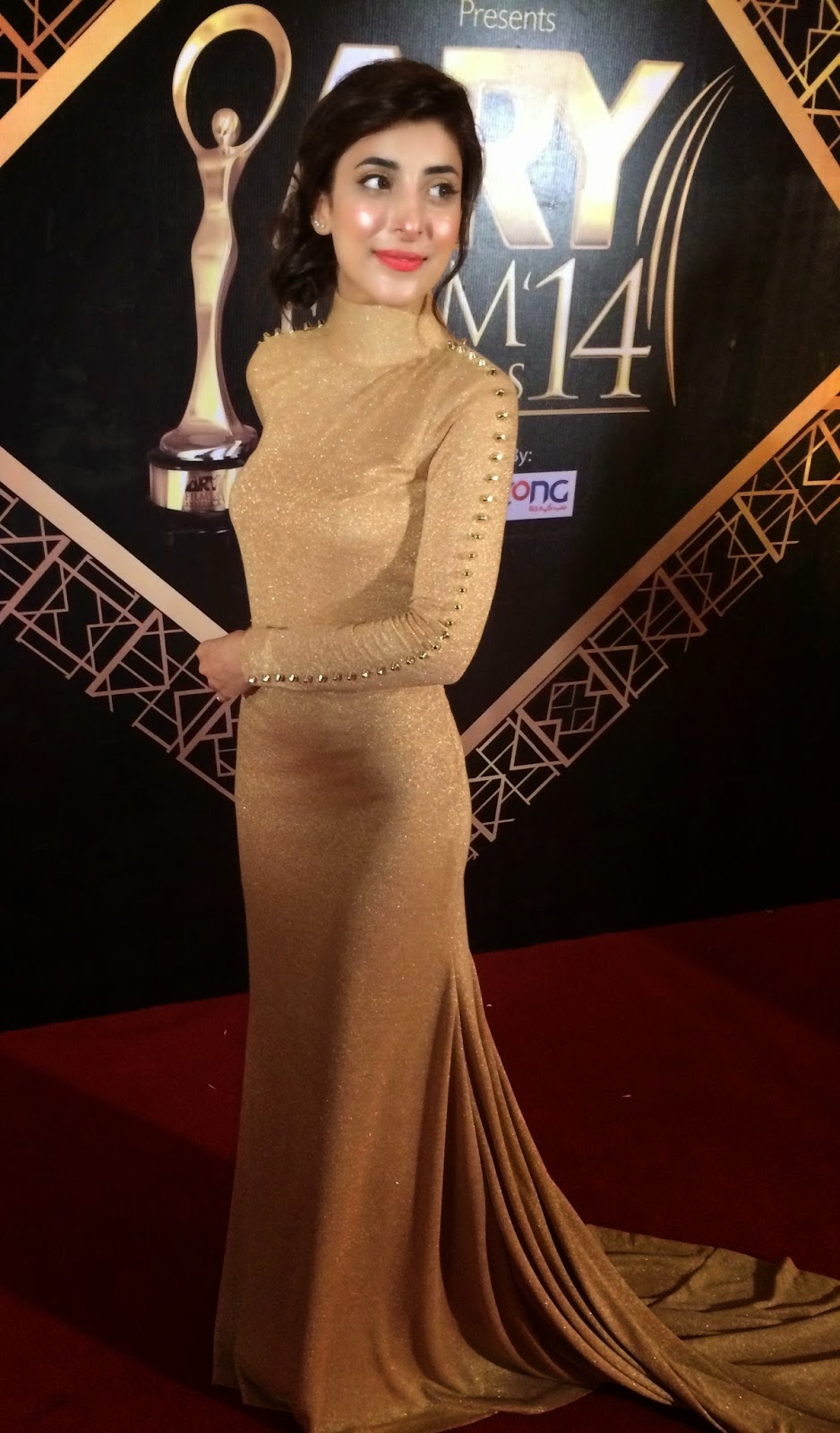 Urwa Hoccani At Ary Digital Award Show Looking Beautiful