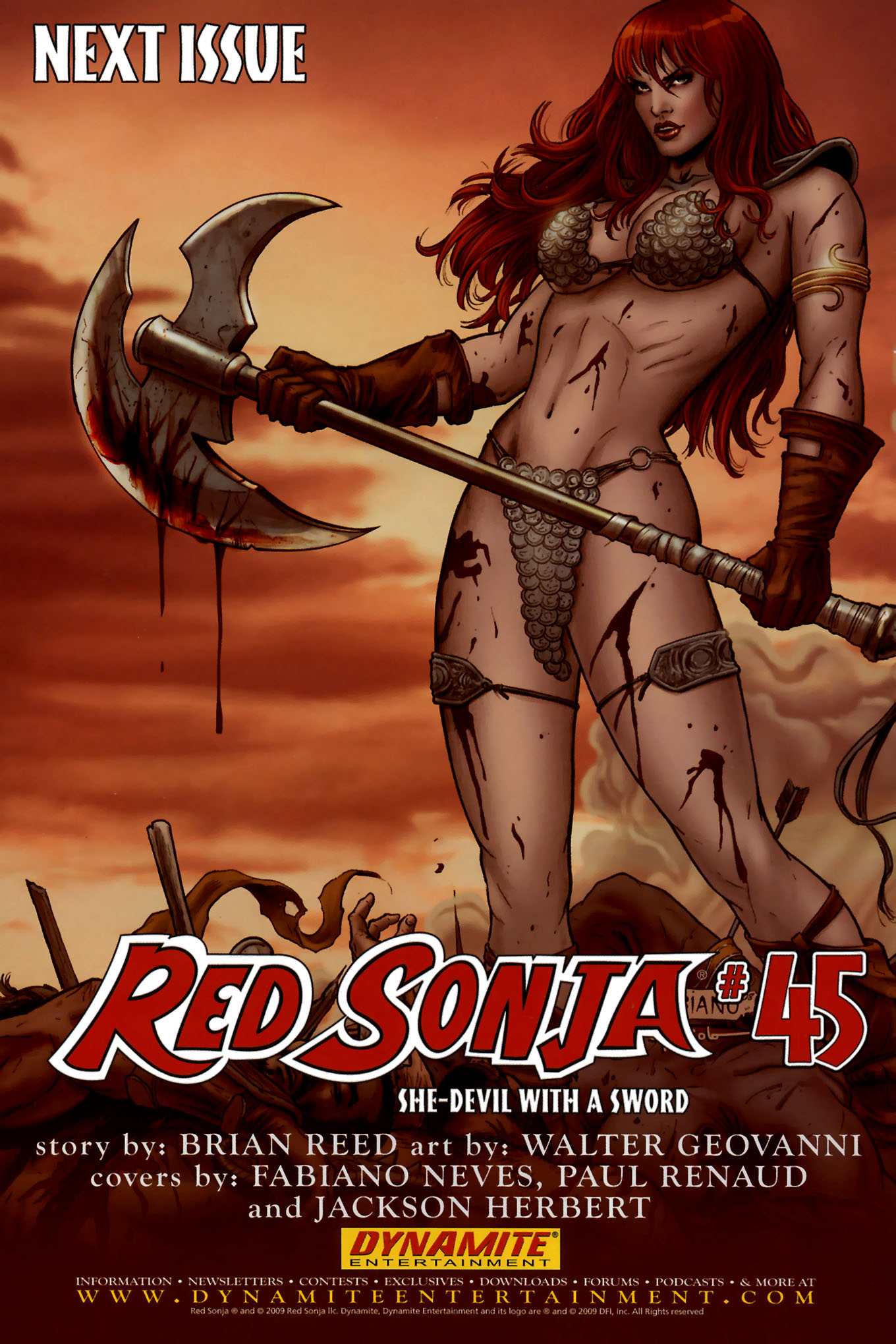 Read online Red Sonja (2005) comic -  Issue #44 - 37