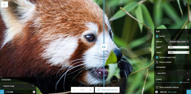 جوجل تقدم حدمة جديدة لضغط الصور مع الحفاظ على جودتها-Google offers a new service to compress images