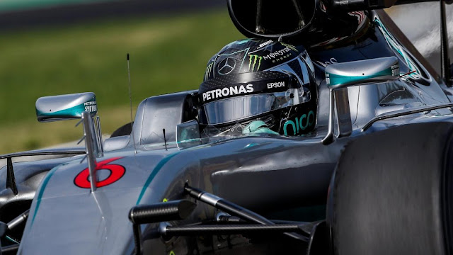Latihan Bebas 2 GP F1 Hungaria : Rosberg Memimpin, Rio Terakhir