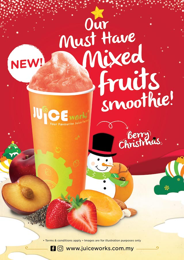 Berry Christmas - Delicious Dieting @ Juice Works Malaysia