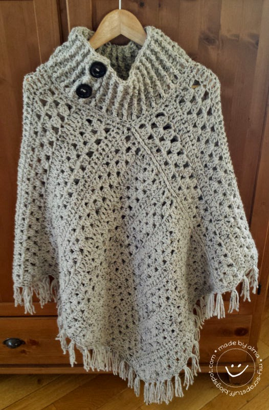 Poncho Simply Made By Alma