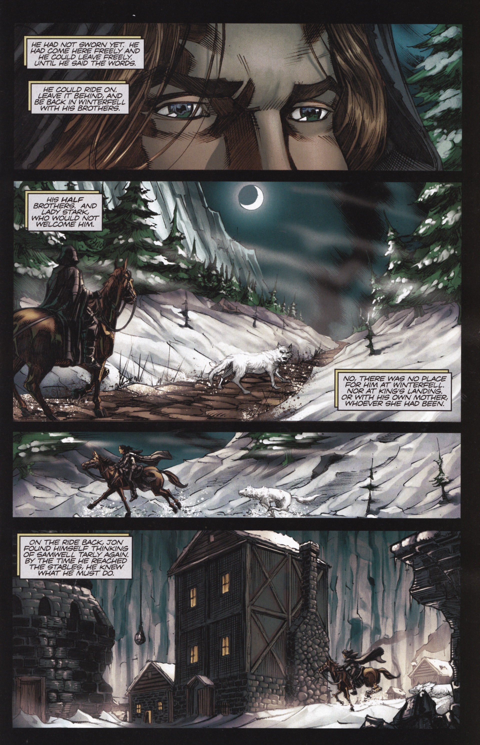 Read online A Game Of Thrones comic -  Issue #13 - 15