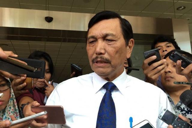 Dilaporkan ke Bawaslu, Luhut: Kan Indonesia Dianggap Nomor Satu