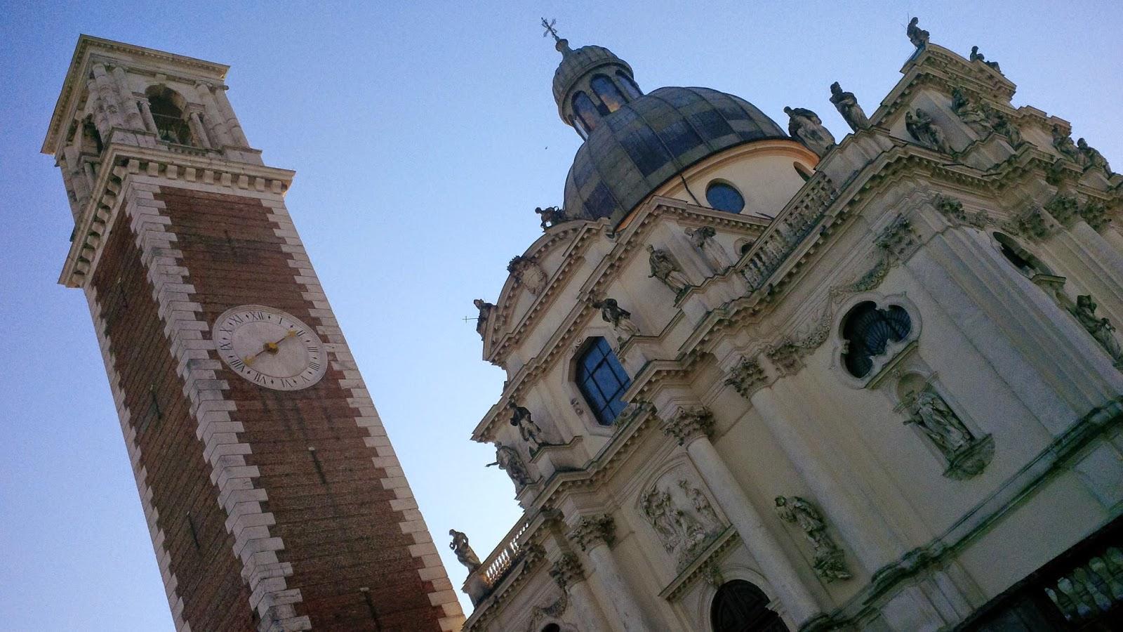 The church atop Monte Berico