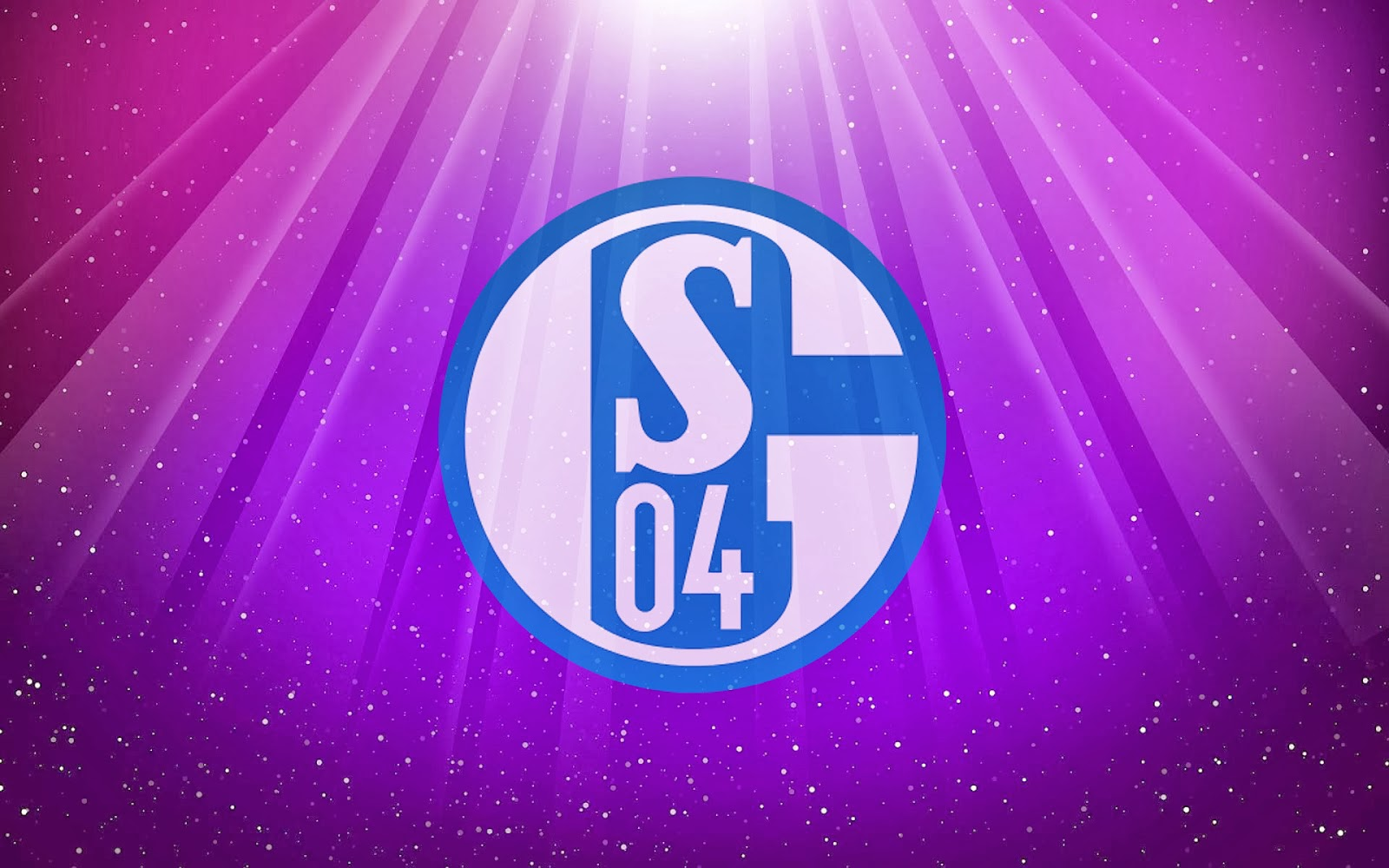 Bilder lila Schalke 04 wallpaper mit Schalke 04 logo in HD