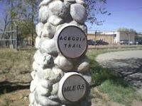 santa fe acequia trail