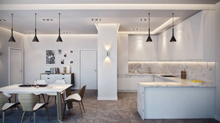 thiết kế thi công nội thất nhà bếp độc đáo 15