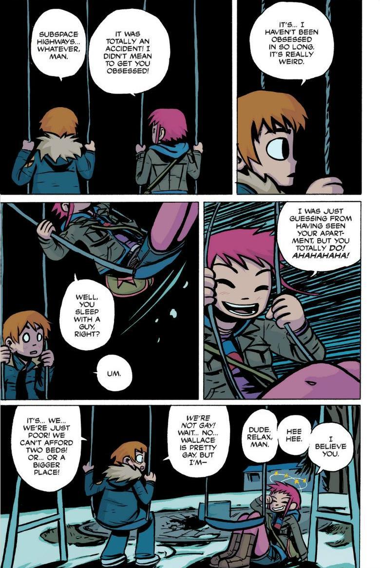 Read online Scott Pilgrim comic -  Issue #1 - 82