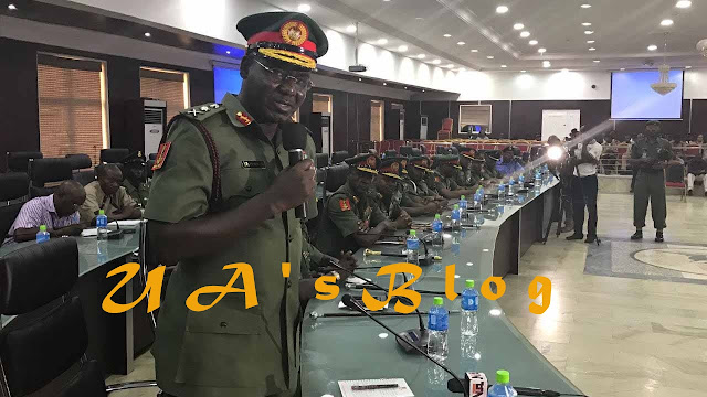 Buratai reveals what will happen to Army officers 'romancing' politicians