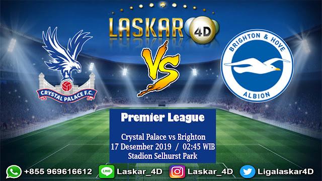 Prediksi Pertandingan Crystal Palace vs Brighton 17 Desember 2019